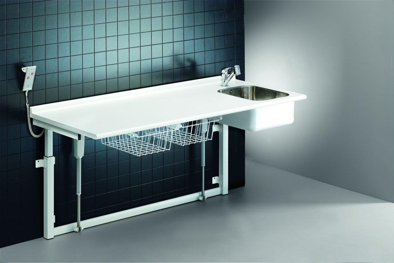 pressalit care wickeltisch r8733000 mit waschbecken. Black Bedroom Furniture Sets. Home Design Ideas