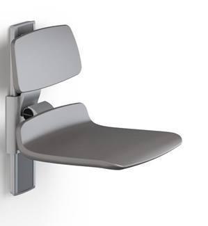 pressalit care plus duschsitz 450 mit r ckenst tze hochklappbar bis 200 kg belastbar. Black Bedroom Furniture Sets. Home Design Ideas