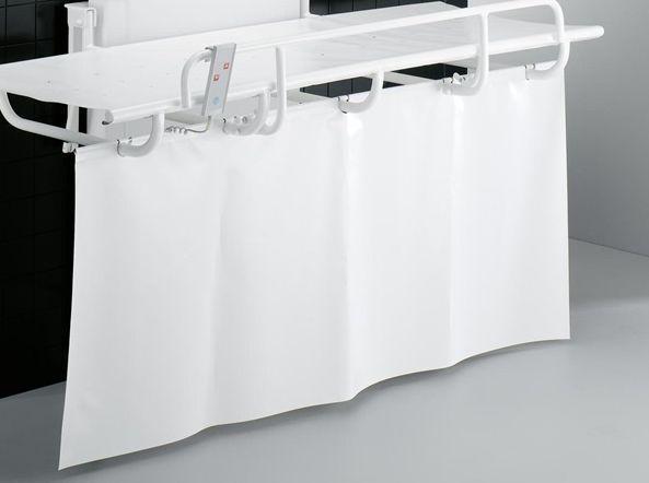 pressalit care r8420000 vorhang f r dusch und pflegeliege 1000. Black Bedroom Furniture Sets. Home Design Ideas