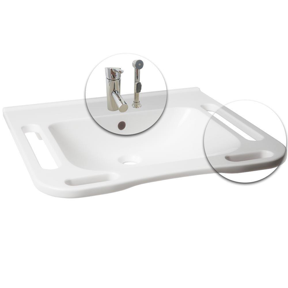 kibomed gtm602 waschbecken senioren und rollstuhlfahr. Black Bedroom Furniture Sets. Home Design Ideas