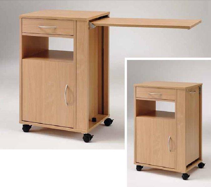 pflege nachttisch mit ausziehbarem betttisch. Black Bedroom Furniture Sets. Home Design Ideas
