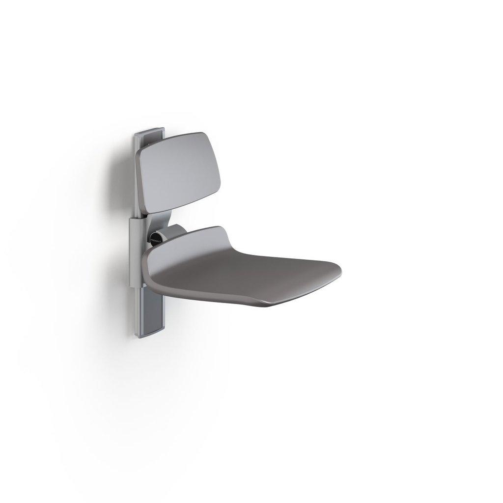 pressalit care r7420112 plus duschsitz 450 mit r ckenst tze hochklappbar bis 200 kg belastbar. Black Bedroom Furniture Sets. Home Design Ideas