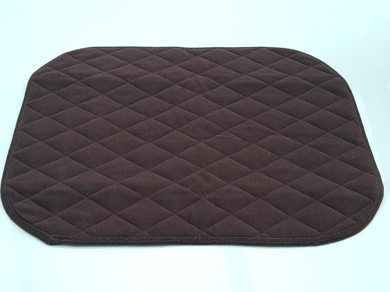 inkontinenz sitzauflage f r st hle und sessel format 40 x 50 cm saugf hig waschbar farbe braun. Black Bedroom Furniture Sets. Home Design Ideas