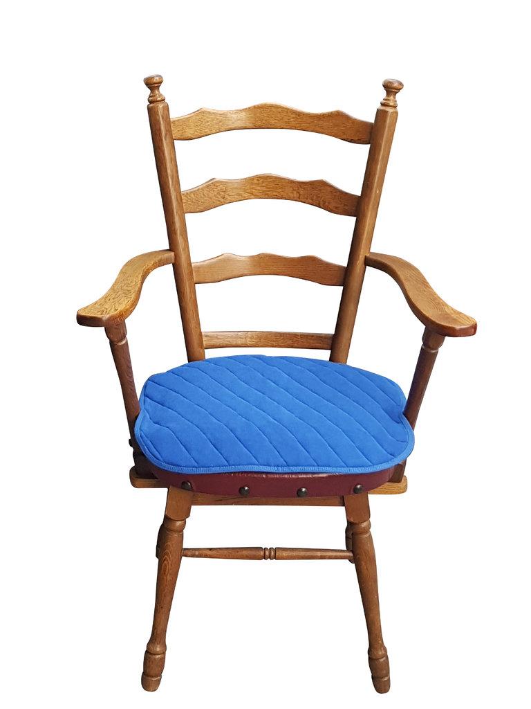 inkontinenz sitzauflage f r st hle und sessel format 40 x 50 cm saugf hig waschbar farbe blau. Black Bedroom Furniture Sets. Home Design Ideas
