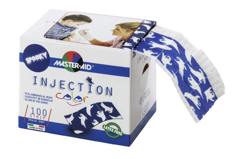 INJECTION STRIP COLOR SPOOKY, Kinder Injektionspflaster, PZN 12906881, STAFFELPREISE