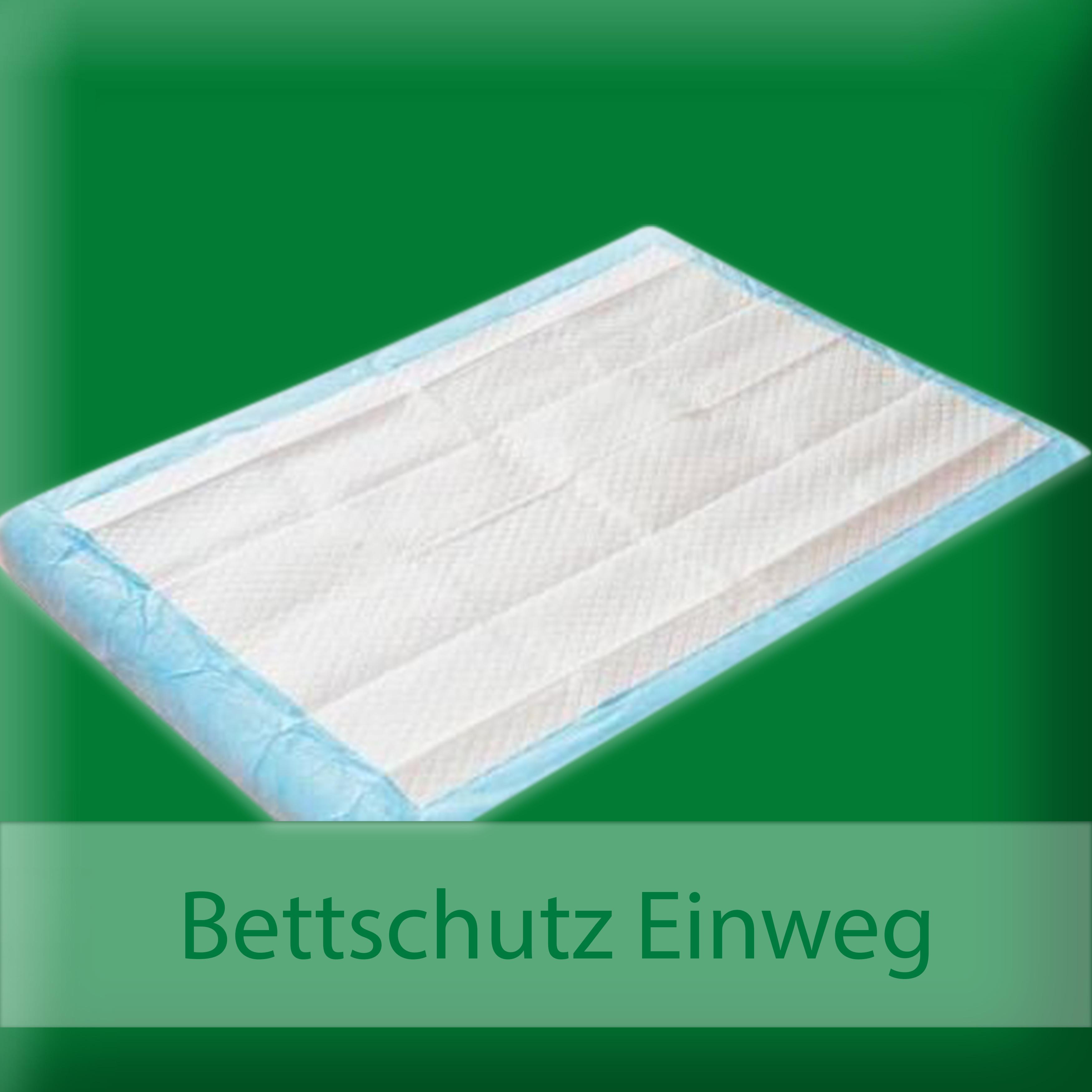 Wasserdichte Matratzenauflage Inkontinenzschutz 100x100 cm 3 lagig Baumwolle NEU