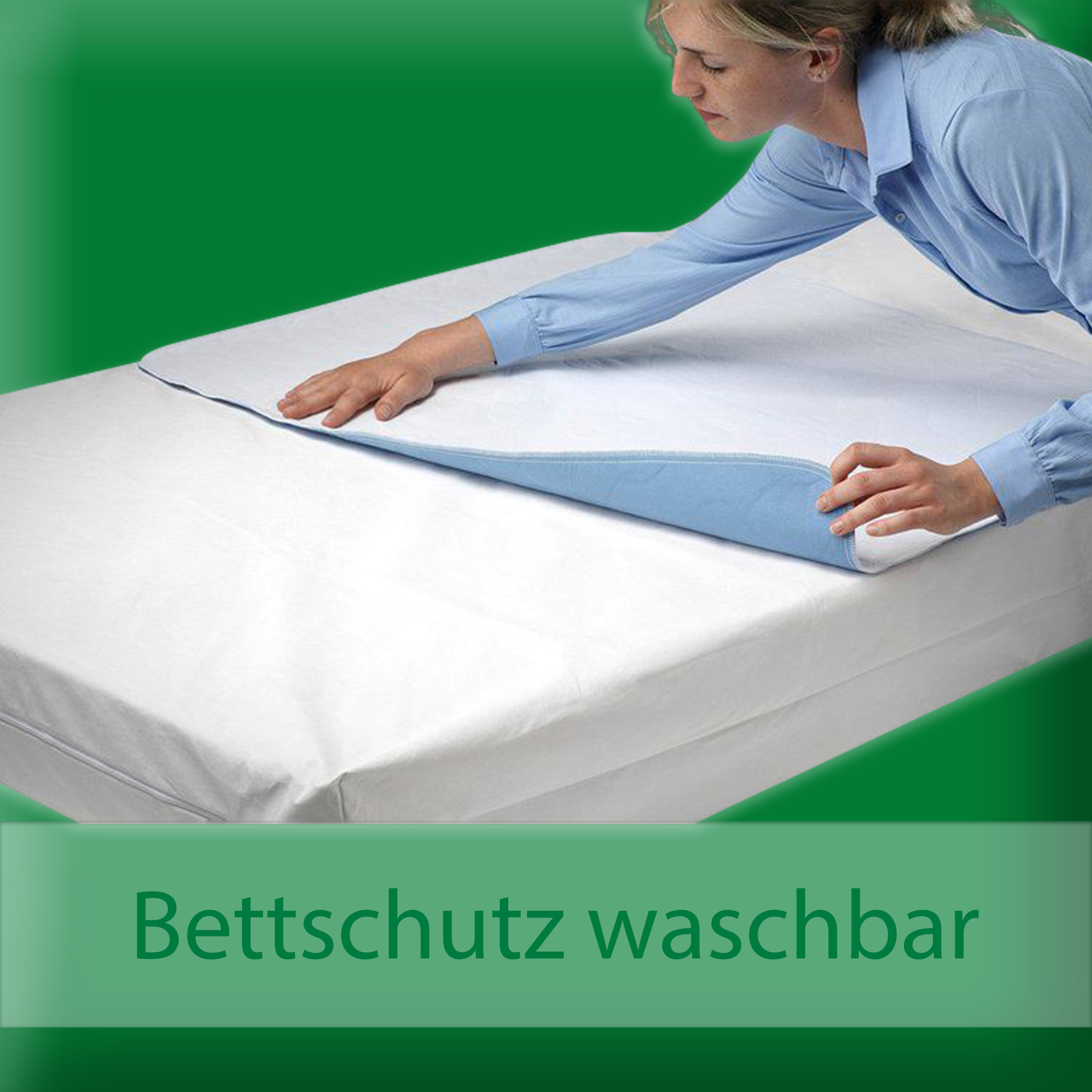 inkontinenz bettschutz. Black Bedroom Furniture Sets. Home Design Ideas